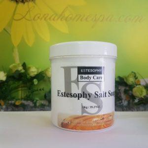 Estesophy Salt Soap Muối tắm khoáng tẩy tế bào chết mật ong