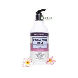 Sử dụng tẩy tế bào chết Biocell Face Scrub từ 2-3 lần mỗi tuần để làn da luôn được sạch thông thoáng nhé.